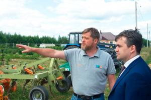 Посещение экофермы губернатором Ивановской области